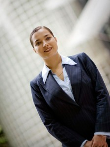 Elena Marchuk, UTS Faculty of business graduate at the Haymarket campus