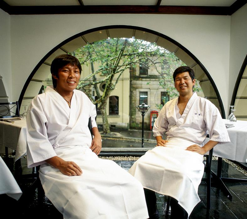 Sushi chefs, The Rocks, Sydney
