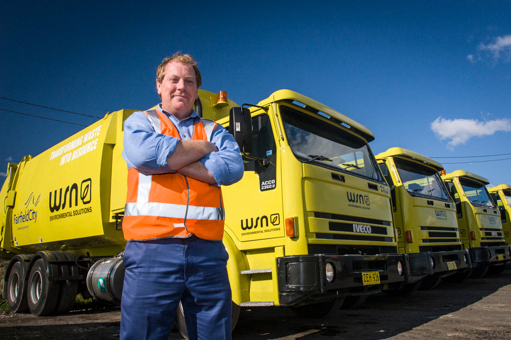 Truck fleet manager at WSN Eastern Creek site.