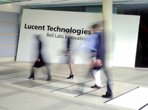 Foyer of the offices of Lucent Technologies Australia, North Ryde.
