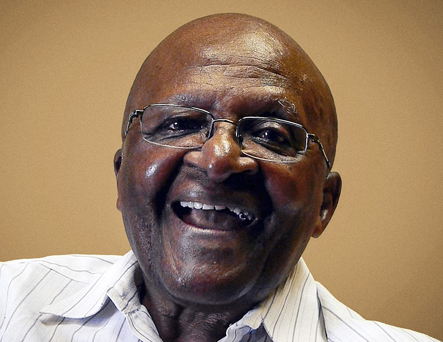 Arch Bishop Desmond Tutu, photographed in Cape Town, South Africa, March 2012