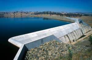 Slipway at Ben Chifley Dam NSW, from the East