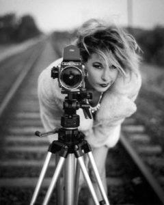 Mandy Nolan, artist, comedian, writer.